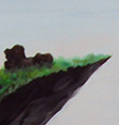 painting of a cliff
