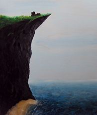 painting cliff