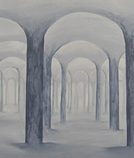 Painting grey arches