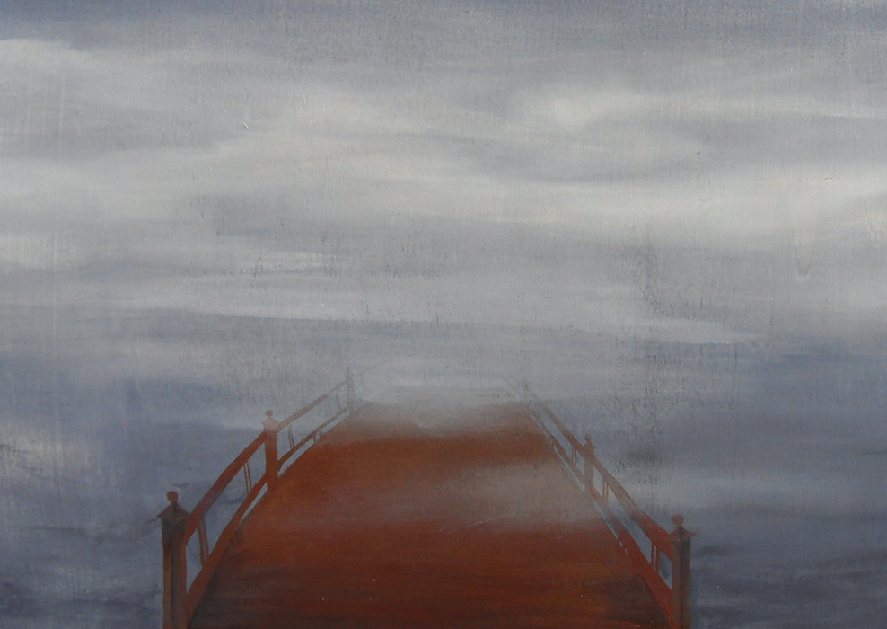 Bridge, painting